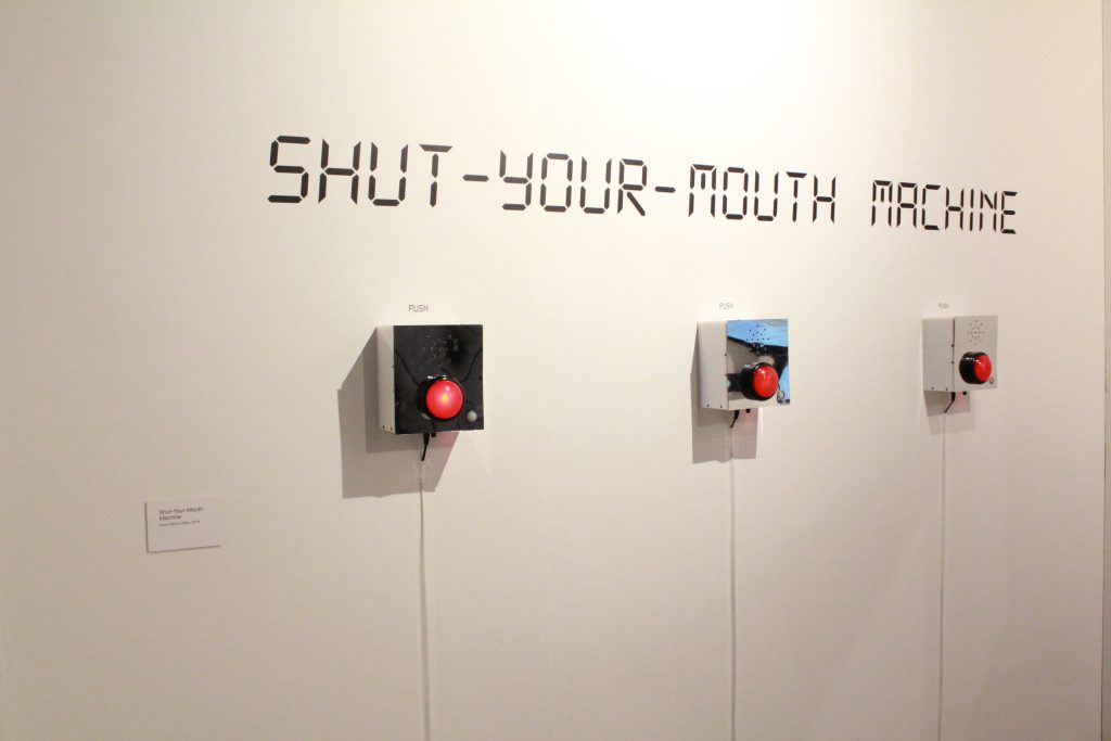 Máquina de callar / Shut-Your-Mouth Machine 2016
