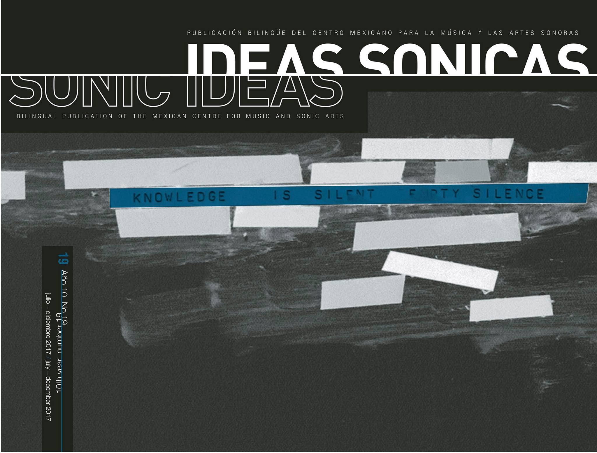 Portada revista ideas sonicas 19 articulo EX