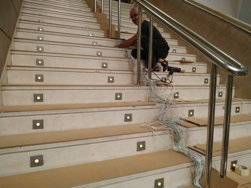 foto movil escalera IVAM 6