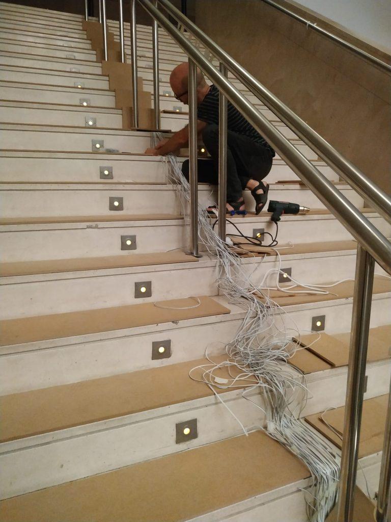 foto movil escalera IVAM 7